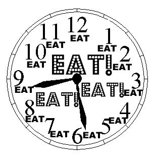 eating-clock